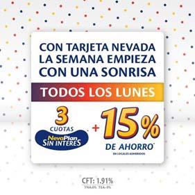 Promo Nevada 15%