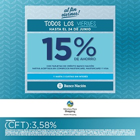 Promo Recurrente de Banco Nación