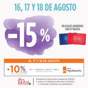 15% con Muy Shopping