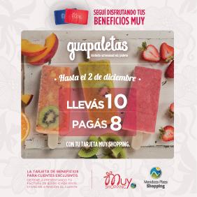 Guapaletas con Muy Shopping