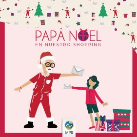 Vení a sacarte una foto con Papá Noel