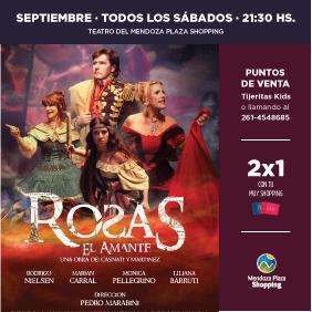 Obra de teatro Rosas, el amante