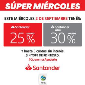 Super miércoles Santander