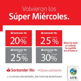 Supermiércoles Santander