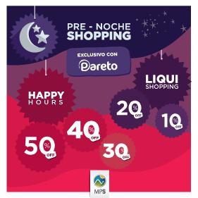 Pre Noche Shopping Pareto