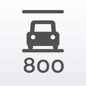 Servicio estacionamiento gratuito: 800 espacios cubiertos